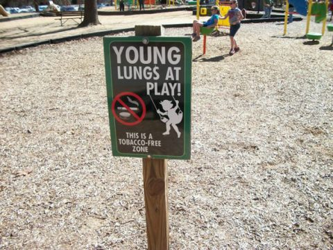 Rowan County Commissioners vote for smoke-free parks